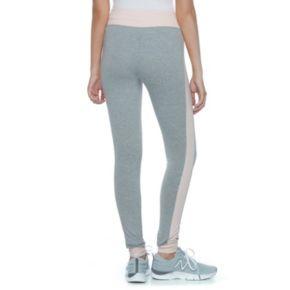 Juniors' SO® Colorblock Yoga Leggings