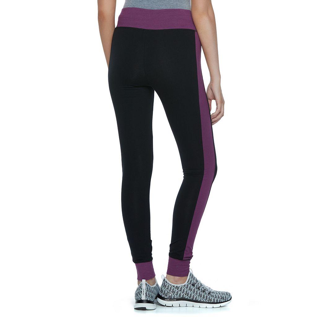 Juniors' SO® Yoga Colorblock Leggings