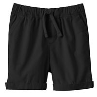 Toddler Boy Jumping Beans® Cuffed Canvas Shorts