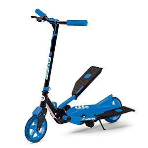 Y Fliker Scooter >> Kids Yvolution Y Fliker Air A1 Green Three Wheeled Scooter