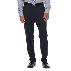 Big & Tall Chaps Performance Series Classic-Fit 4-Way Stretch Suit Pants