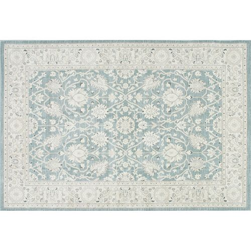 nuLOOM Ziegler Wharton Framed Floral Rug - 3' x 5'