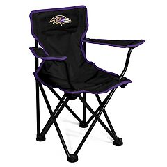 Logo Brands Baltimore Ravens Toddler Portable Folding Chair