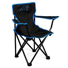 Logo Brands Carolina Panthers Toddler Portable Folding Chair