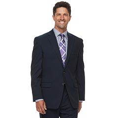 Big & Tall Chaps Performance Series Classic-Fit Stretch Suit Jacket