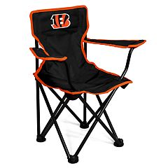 Logo Brands Cincinnati Bengals Toddler Portable Folding Chair