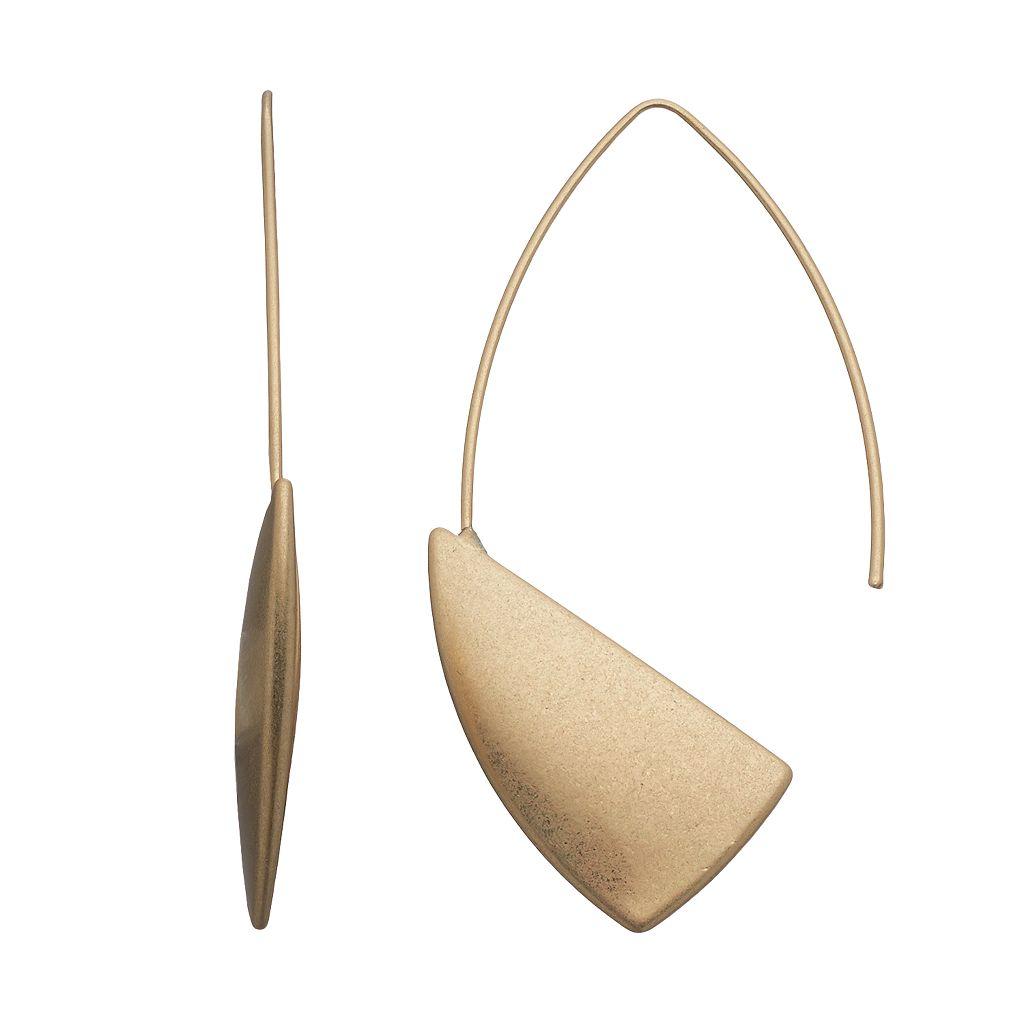 Simply Vera Vera Wang Sail Nickel Free Threader Earrings