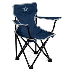 Logo Brands Dallas Cowboys Toddler Portable Folding Chair