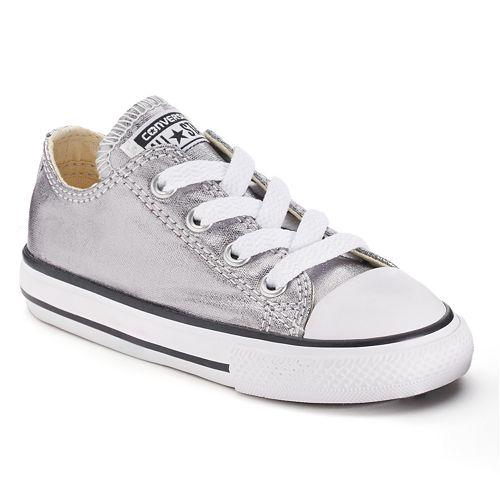 5ba95d02402 Toddler Converse Chuck Taylor All Star Metallic Shoes