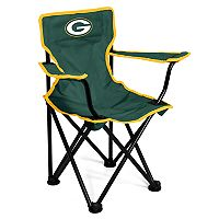 Logo Brands Green Bay Packers Toddler Portable Folding Chair