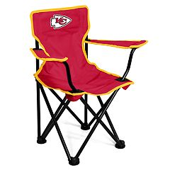 Logo Brands Kansas City Chiefs Toddler Portable Folding Chair
