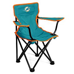 Logo Brands Miami Dolphins Toddler Portable Folding Chair