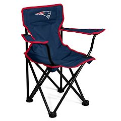 Logo Brands New England Patriots Toddler Portable Folding Chair