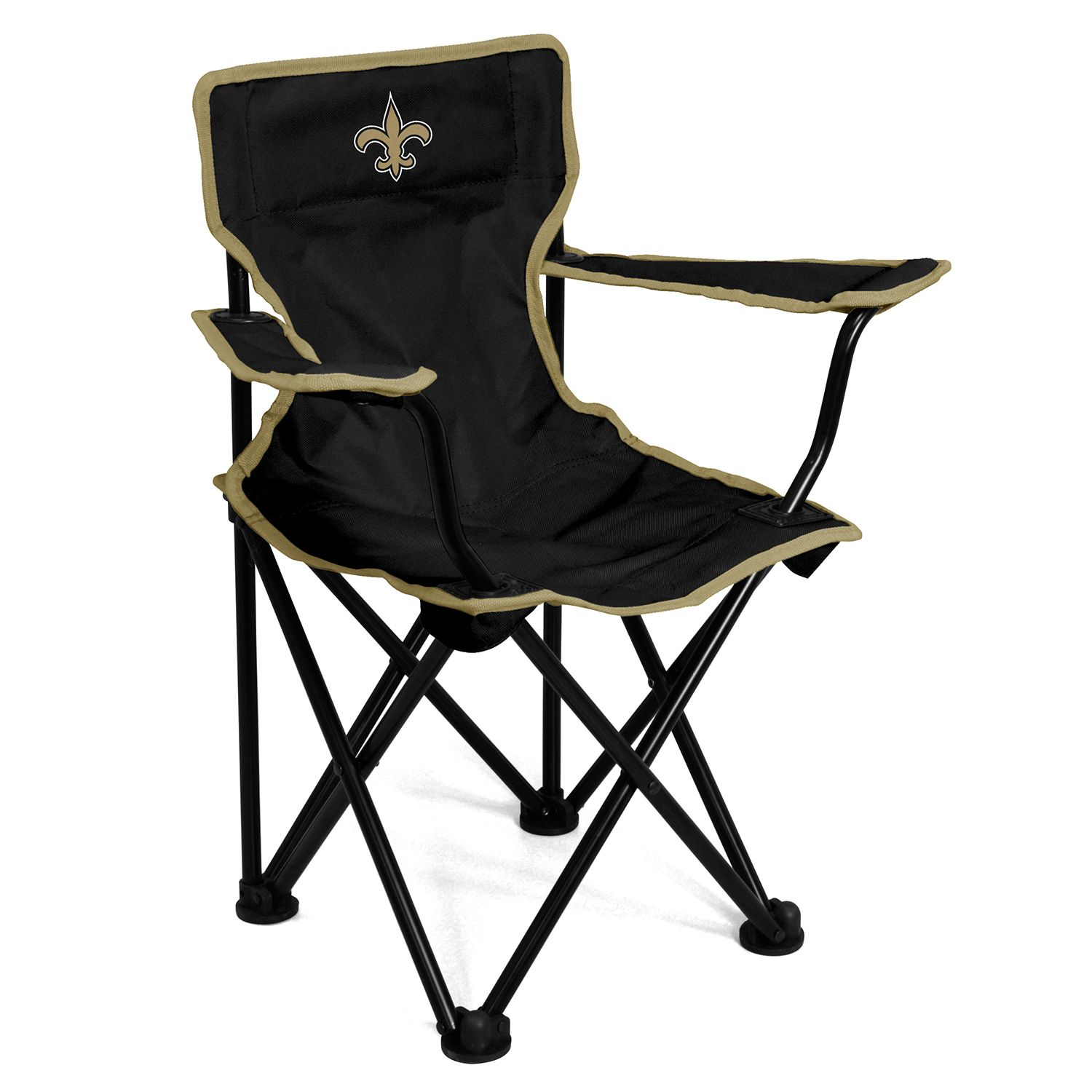 Logo Brands New Orleans Saints Toddler Portable Folding Chair