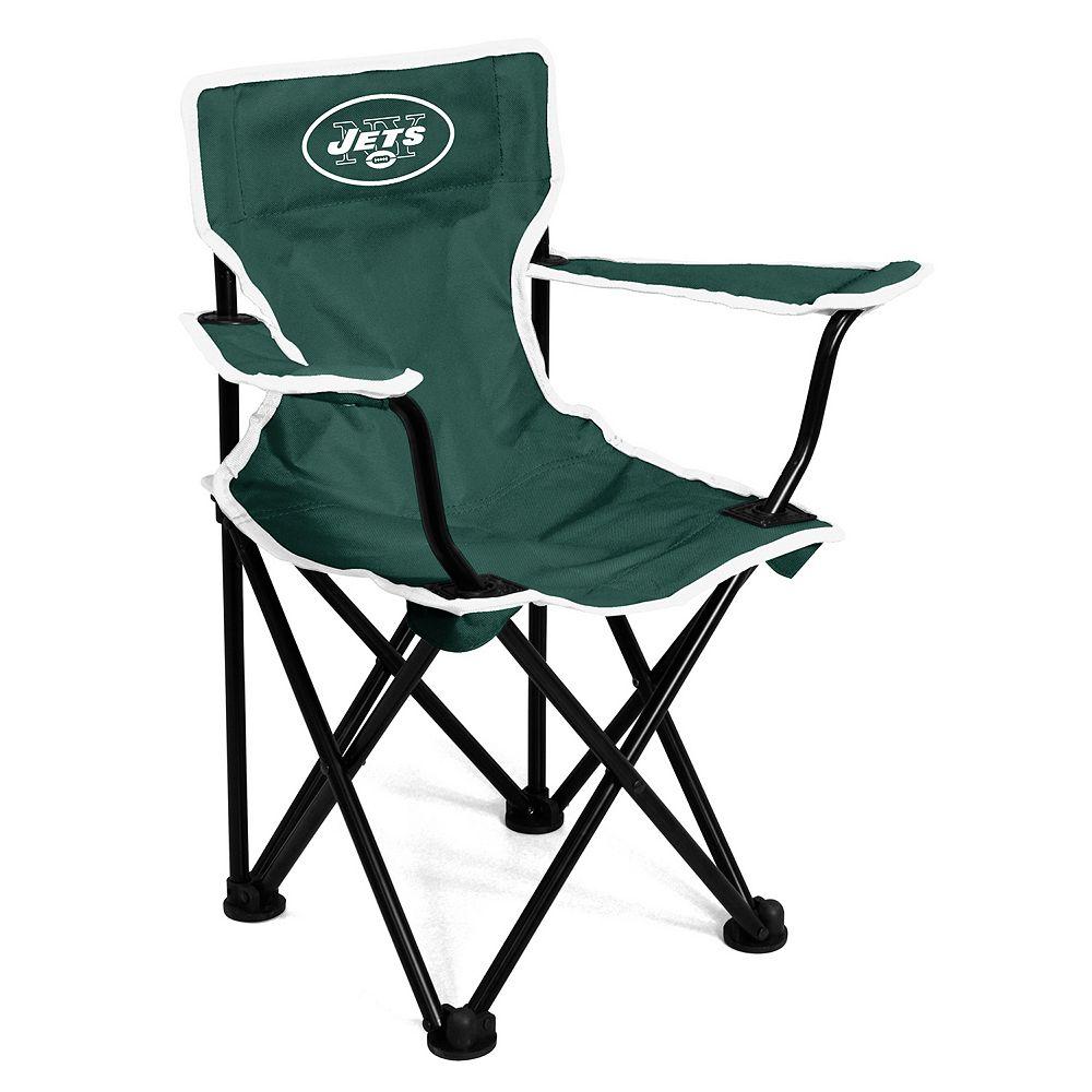 Awe Inspiring Logo Brands New York Jets Toddler Portable Folding Chair Beatyapartments Chair Design Images Beatyapartmentscom