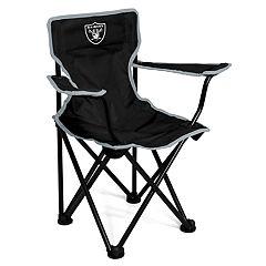Logo Brands Oakland Raiders Toddler Portable Folding Chair