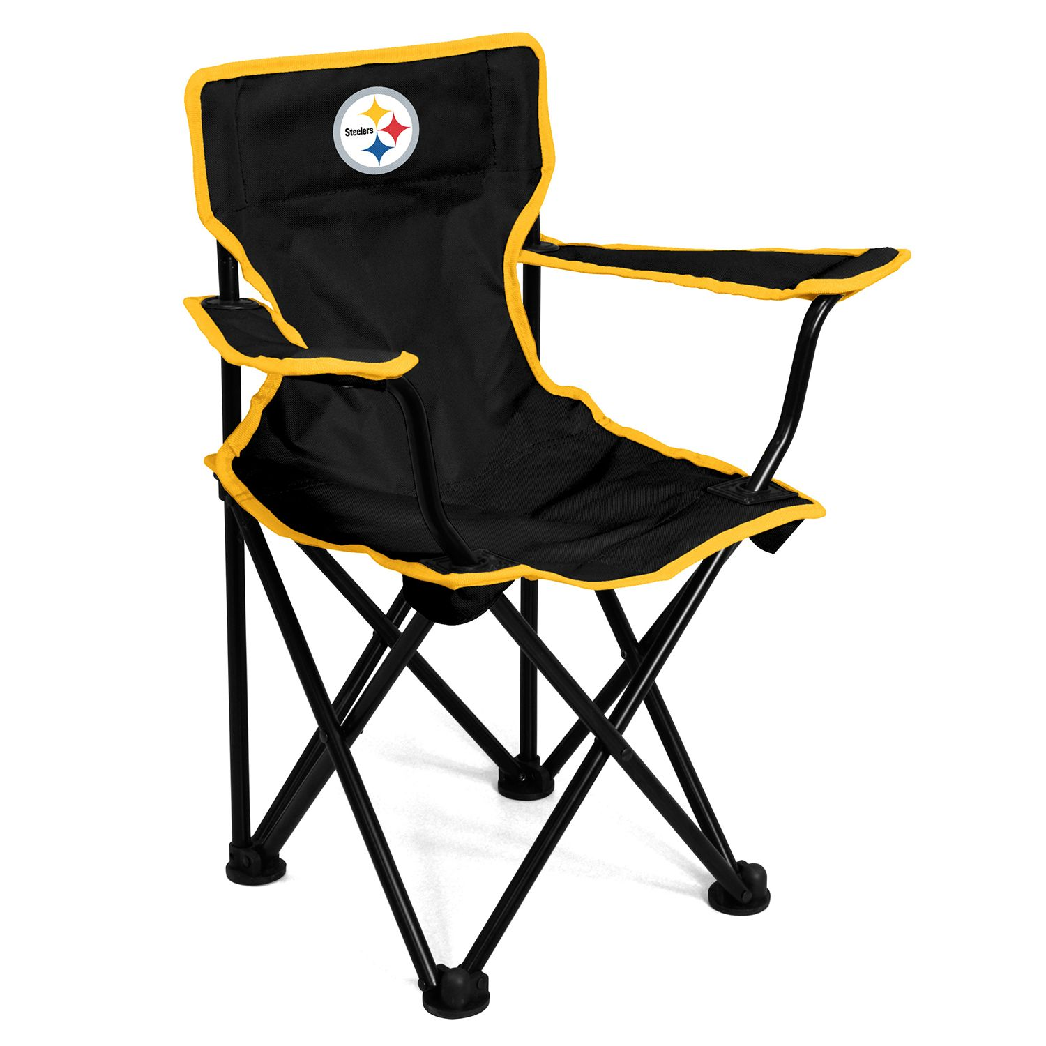 Logo Brands Pittsburgh Steelers Toddler Portable Folding Chair