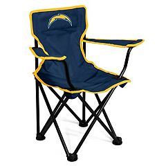 Logo Brands Los Angeles Chargers Toddler Portable Folding Chair