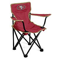 Logo Brands San Francisco 49ers Toddler Portable Folding Chair