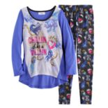 "Disney's Descendants Girls 6-14 ""Chillin Like a Villain"" Tee & Bottoms Pajama Set"