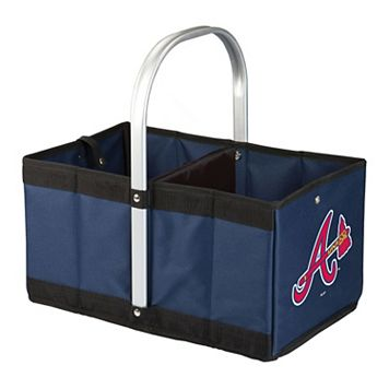 Picnic Time Atlanta Braves Urban Folding Picnic Basket