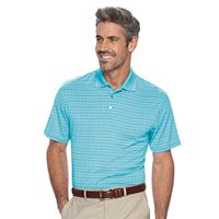 Men's Haggar Classic-Fit Windowpane Performance Polo