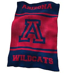Logo Brands Arizona Wildcats Ultrasoft Blanket