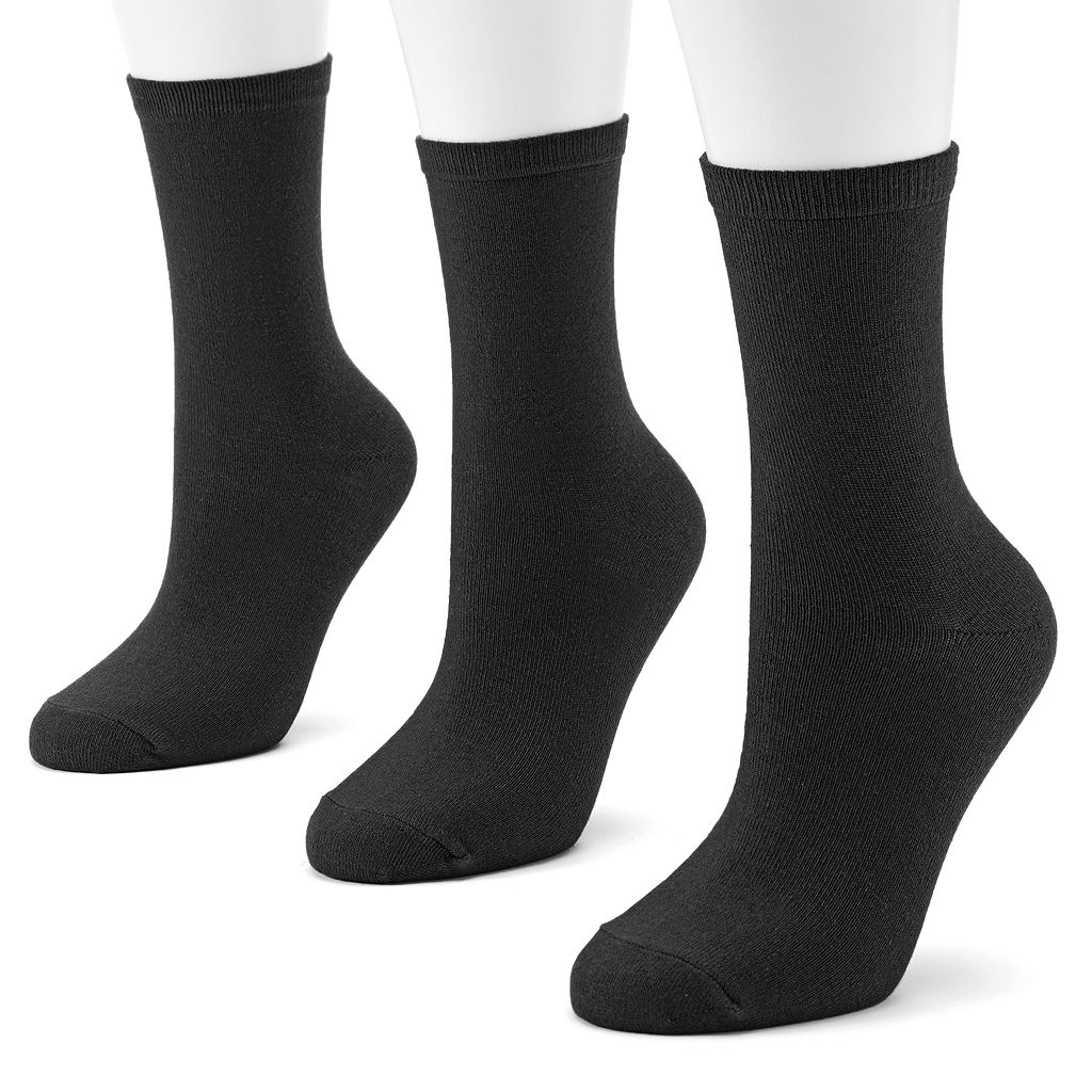 SONOMA Goods for Life™ 3-pk. Crew Socks