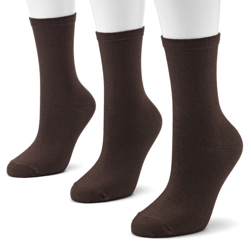 SONOMA life + style 3-pk. Crew Socks