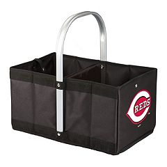 Picnic Time Cincinnati Reds Urban Folding Picnic Basket