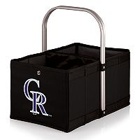 Picnic Time Colorado Rockies Urban Folding Picnic Basket