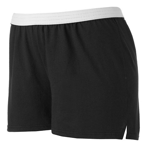 Juniors' Plus Size Soffe Curves Classic Shorts