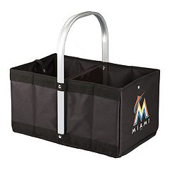 Picnic Time Miami Marlins Urban Folding Picnic Basket