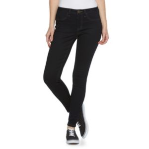 Juniors' SO® Denim High Rise Ankle Jeggings