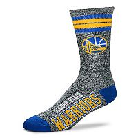 Adult For Bare Feet Golden State Warriors Got Marbled Crew Socks
