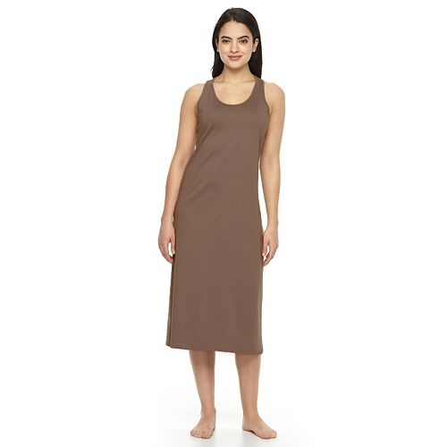 5304d518 Women's Jockey Pajamas: Racerback Nightgown