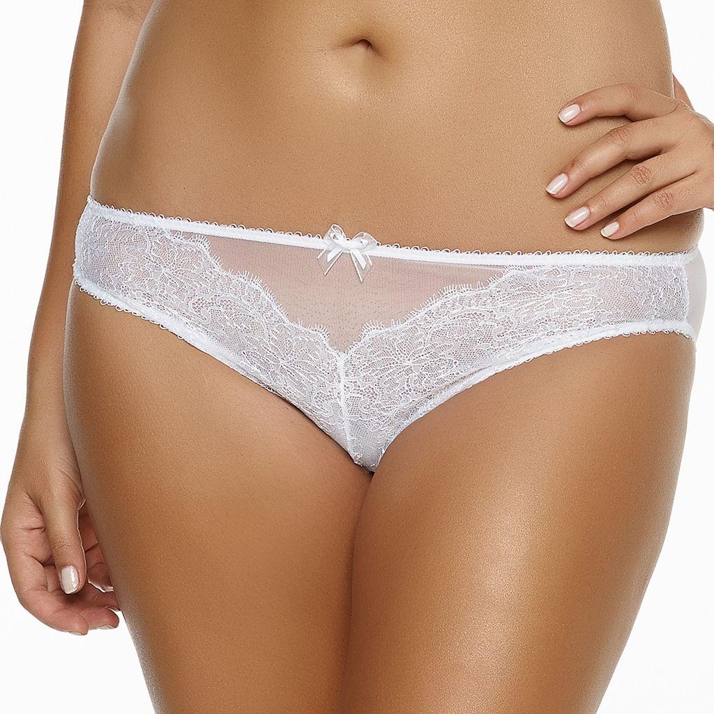 Paramour by Felina Amber Sheer Lace Bikini Panty 635014