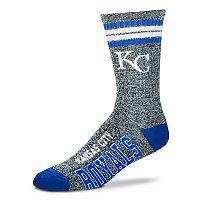 Adult For Bare Feet Kansas City Royals Got Marbled Crew Socks