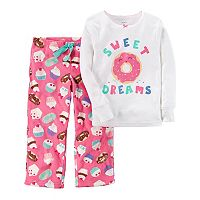 Girls 4-14 Carter's Graphic Top & Print Pants Pajama Set