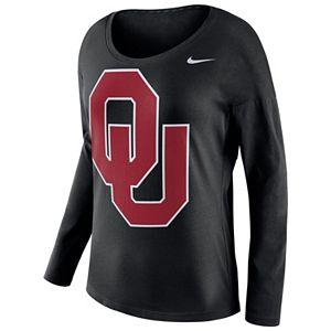 Women's Nike Oklahoma Sooners Tailgate Long-Sleeve Top