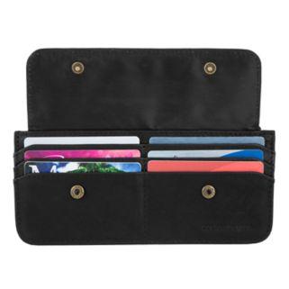 Travelon RFID-Blocking Slim Leather Wallet