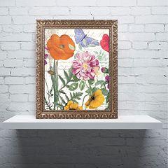 Trademark Fine Art Printemps Ornate Framed Wall Art