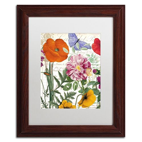 Trademark Fine Art Printemps Framed Wall Art
