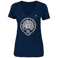 Plus Size Majestic New York Yankees Derek Jeter Tee