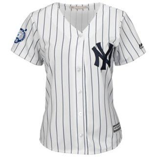 Plus Size Majestic New York Yankees Derek Jeter Replica Jersey