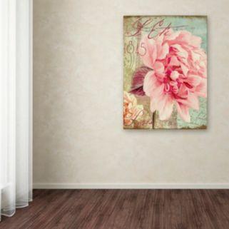 """Trademark Fine Art Saisons III """"Paris"""" Canvas Wall Art"""