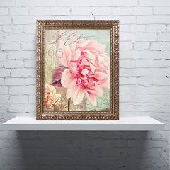 Trademark Fine Art Saisons III 'Paris' Ornate Framed Wall Art