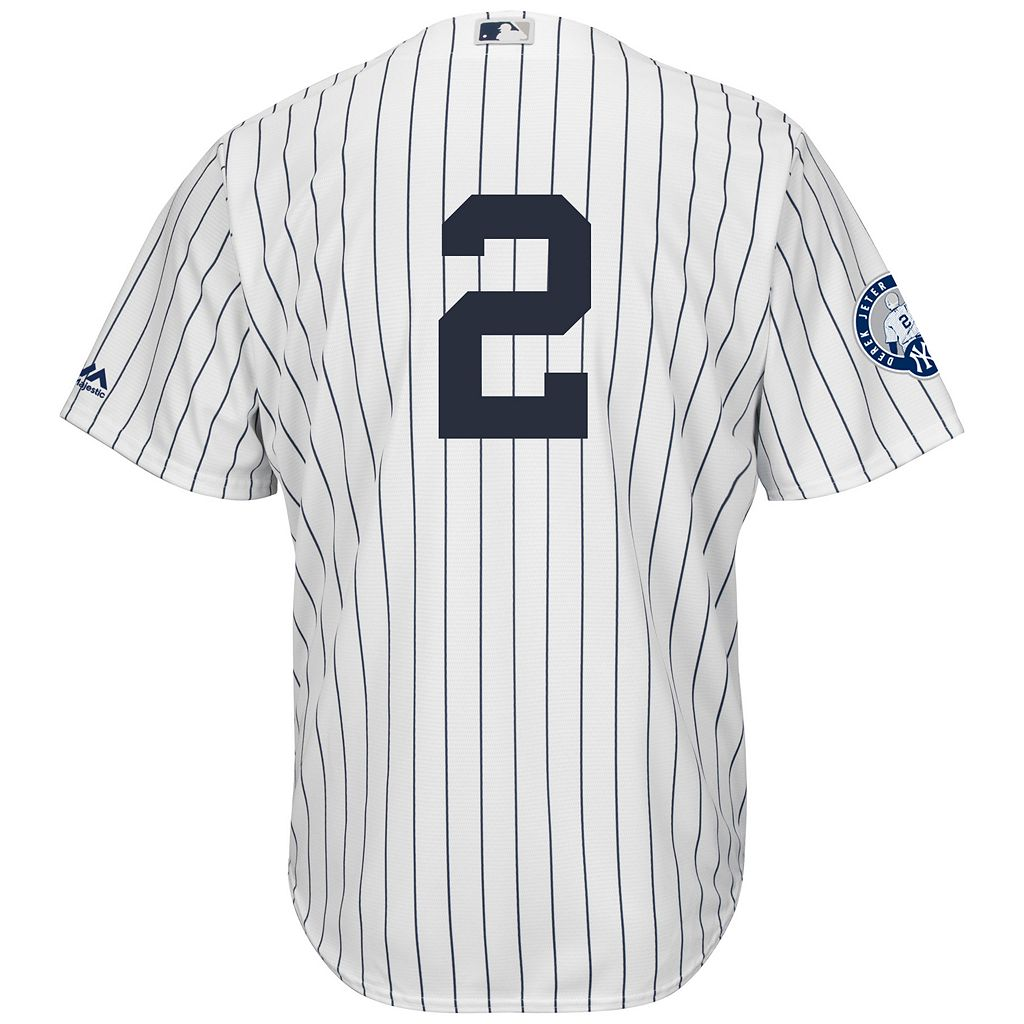 Big & Tall Majestic New York Yankees Derek Jeter Replica Jersey