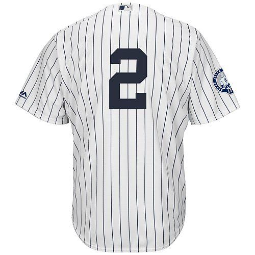 a3adefe93c1 Big   Tall Majestic New York Yankees Derek Jeter Replica Jersey