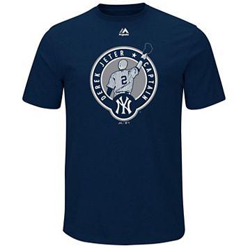 Big & Tall Majestic New York Yankees Derek Jeter Tee